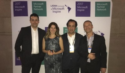 Celebrating U-Planner Microsoft 2017 Global Partner Award!